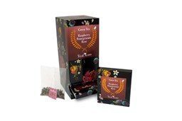 Afbeelding van Green Tea Raspberry pomegranate Single serve 12 x 18gr